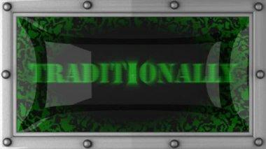 Traditionnellement en conduit — Vidéo