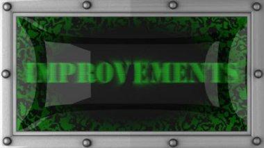 Verbesserungen geführt — Stockvideo