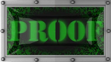 Proof on led — Video Stock