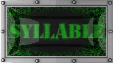 Sylaby na led — Wideo stockowe