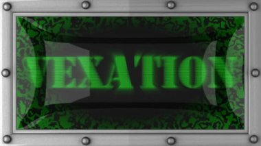 Vexation on led — Stock Video