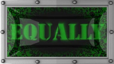 Equally on led — Wideo stockowe