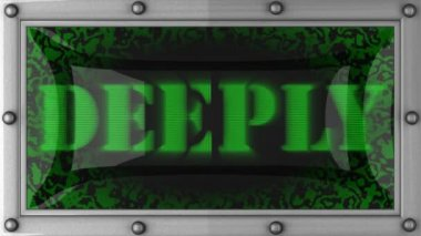 Deeply on led — Stock Video
