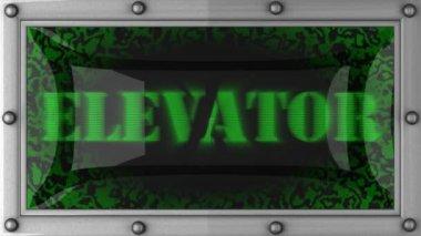 Ascenseur sur conduit — Vidéo