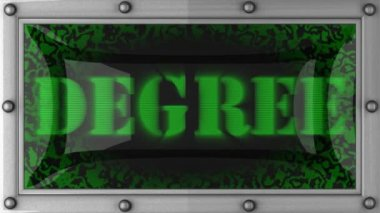 Degree on led — Vidéo