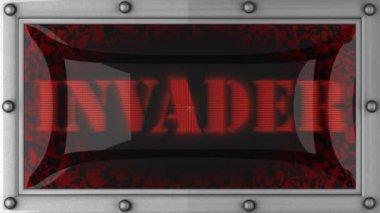 Invasore sul condotto — Video Stock