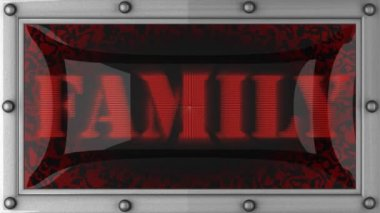 Family on led — Vidéo