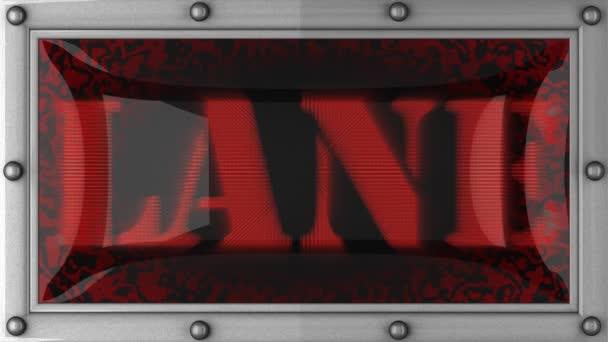 Lane sur conduit — Vidéo