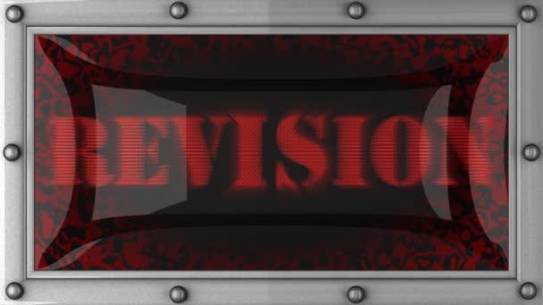 Révision sur conduit — Vidéo