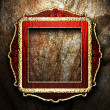 Antique ornament frame — Foto Stock