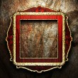 Antique ornament frame - Stock Photo
