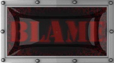 Blâme sur conduit — Vidéo