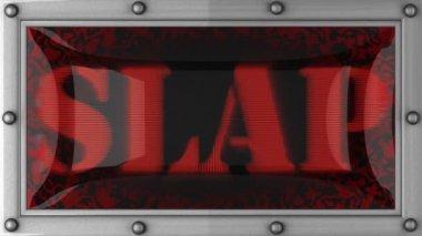 Slap on led — Stock Video