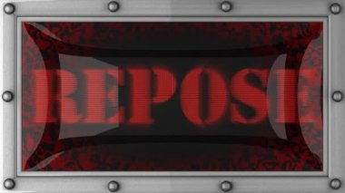 Repose on led — Wideo stockowe