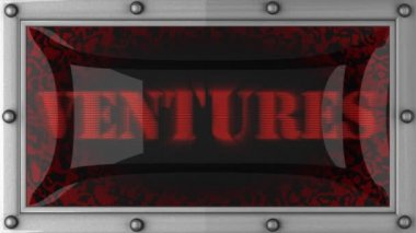 Ventures on led — Stock Video