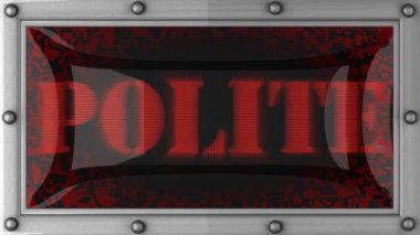 Polite on led — Wideo stockowe