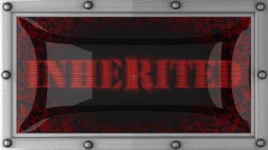 Inherited on led — Stock Video