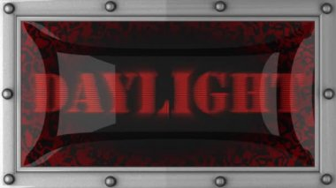Daylight on led — Stok video