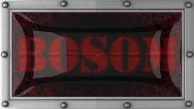 Bosom on led — Stock Video