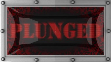 Plunged on led — Wideo stockowe