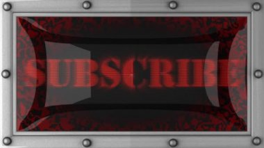 Subscribe on led — Vidéo
