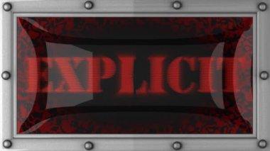 Explicite en conduit — Vidéo