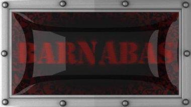 Barnabas på ledde — Stockvideo