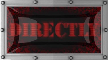 Directly on led — Wideo stockowe
