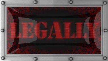 Légalement sur conduit — Vidéo
