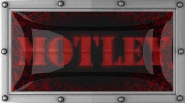 Motley sul condotto — Video Stock