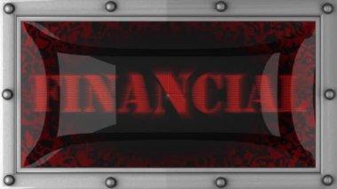 Financiero liderado por — Vídeo de Stock