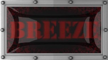 Breeze on led — Stockvideo