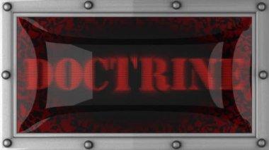 доктрина привело — Стоковое видео