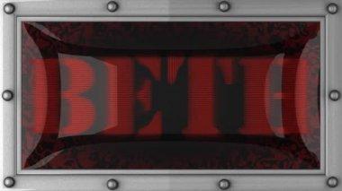 Beth na led — Wideo stockowe