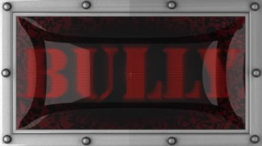 Bully on led — Vídeo de stock