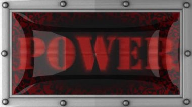 Power on led — Stock Video