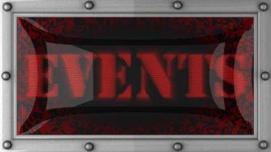 Eventi sul condotto — Video Stock