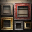 Antique ornament frame - Stockfoto