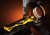 MRI examination — Stock Photo
