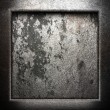 Metal on wall - Stockfoto