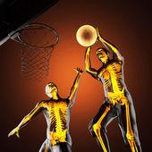 Jugador de baloncesto — Foto de Stock