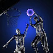 Basketball game player — Stock Photo