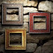 Antique ornament frame — Stock Photo