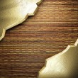 Golden background - Foto Stock