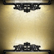 Iron vintage ornament - Stockfoto