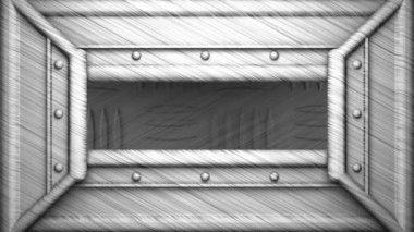 1981 på stål stämpel — Stockvideo