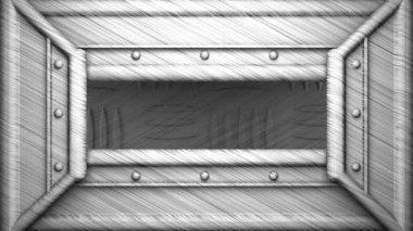 55 por ciento de sello de acero — Vídeo de stock