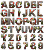 Military alphabet — Stock Photo
