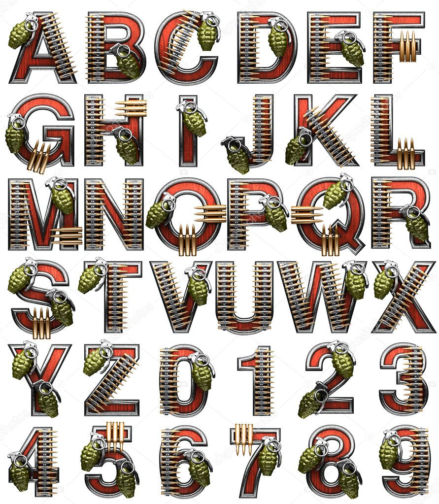Military Alphabet - www.