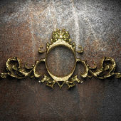 Vintage altın çerçeve — Stok fotoğraf